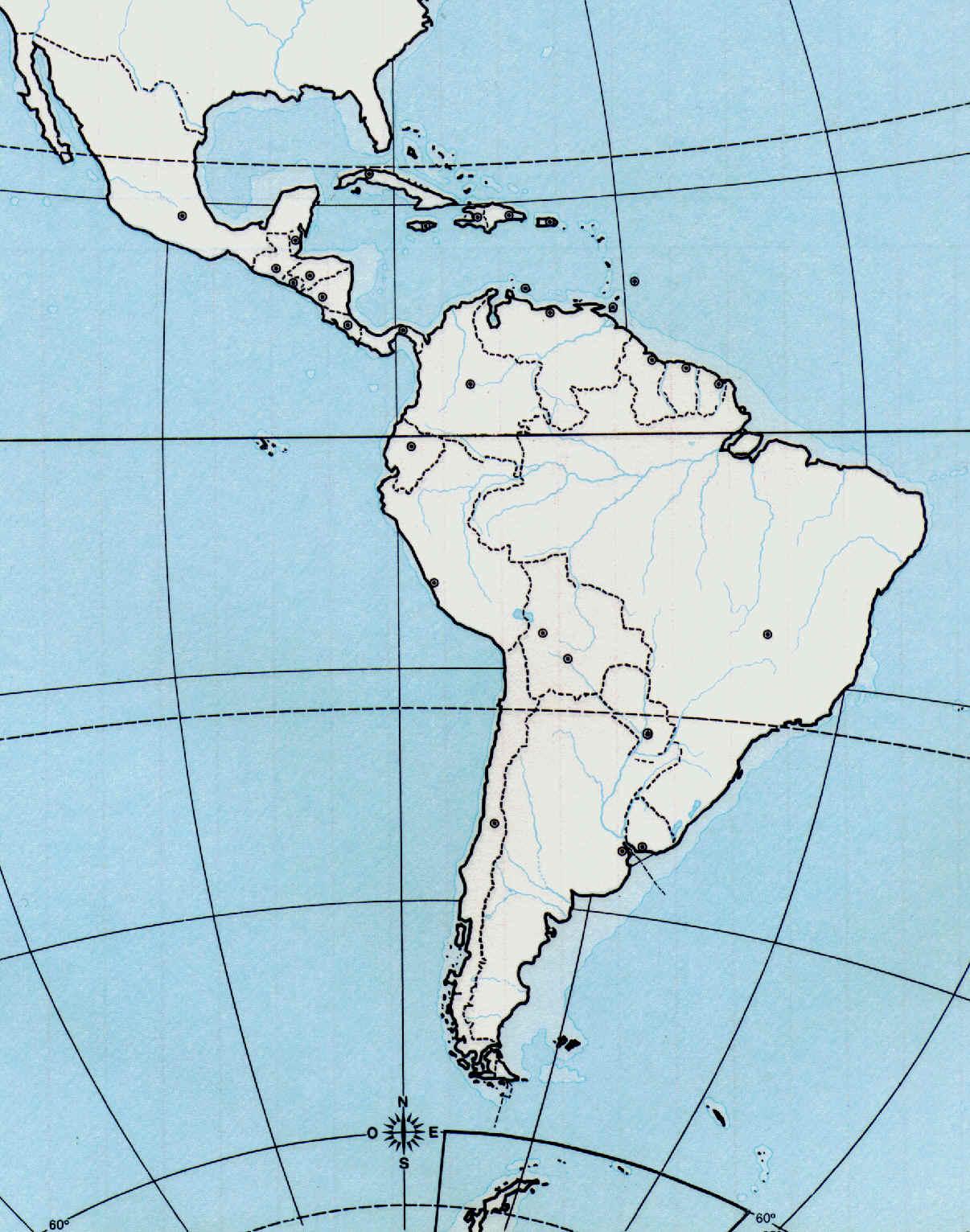 lista de los paises de america latina: