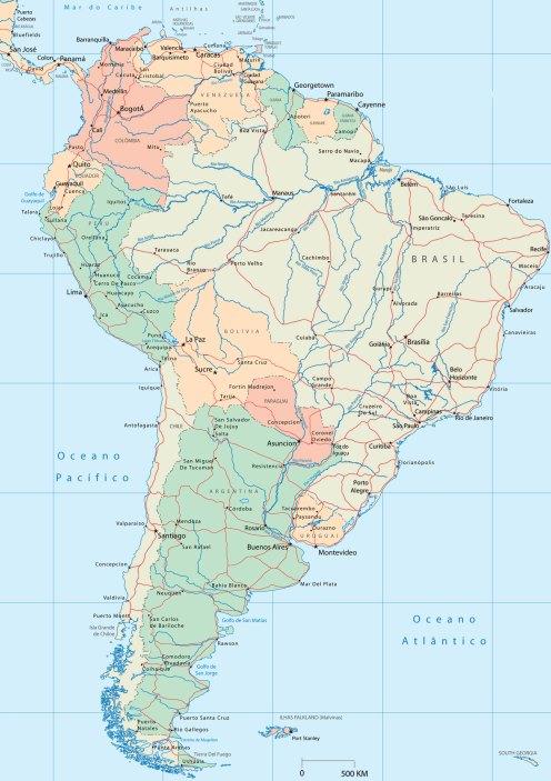 mapa-america-do-sul
